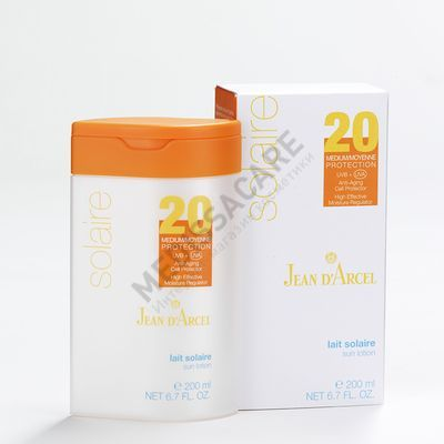 Питательное солнцезащитное молочко SPF 20  — фото №1