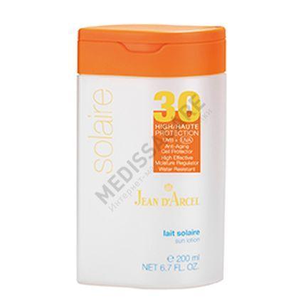 Водостойкий солнцезащитный крем с высокой степенью защиты SPF 30 Jean d'Arcel — фото №1