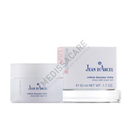 Питательный нежный крем для чувствительной кожи Jean d'Arcel — фото №1
