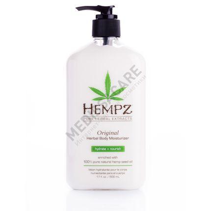 Увлажняющее растительное молочко для тела Original Hempz — фото №1