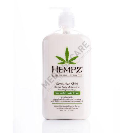 Увлажняющее молочко для чувствительной кожи тела Hempz — фото №1