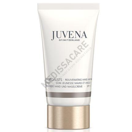 Омолаживающий крем для рук и ногтей SPF 15 - Rejuvenating hand & nail cream SPF 15 Juvena — фото №1