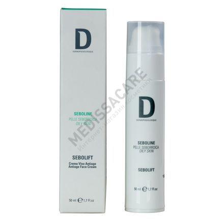 Антивозрастной крем для жирной комбинированной кожи / Sebolift Antiage for Sensitive Skin Dermophisiologique — фото №1