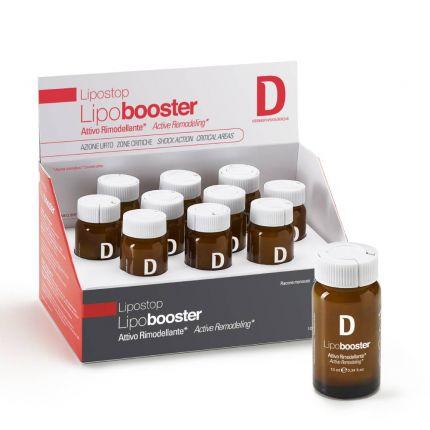 Ампульный концентрат-бустер, уменьшающий жировые отложения LipoBooster Dermophisiologique — фото №1