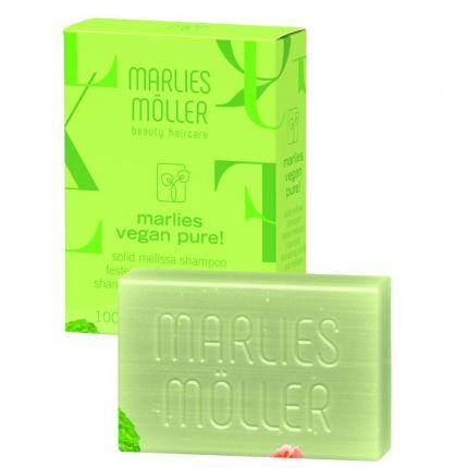 Твердий веганський шампунь Меліса / Solid Melissa Vegan Shampoo Marlies Moller — фото №1