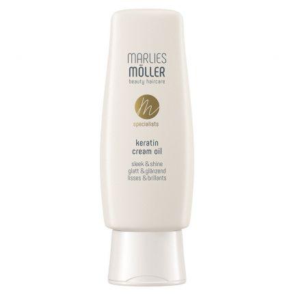 Крем-олія для волосся з кератином «Гладкість та блиск» / Keratin Cream Oil Sleek and Shine Marlies Moller — фото №1