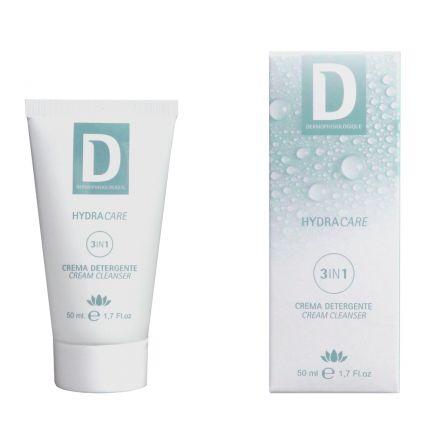 Универсальный очищающий крем 3 в 1 / Crema Detergente 3 in 1 Dermophisiologique — фото №1